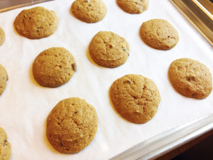 PumpkinChocolateChip Cookies