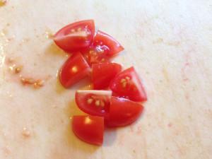 chopped tomato