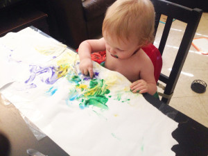 mason finger paints