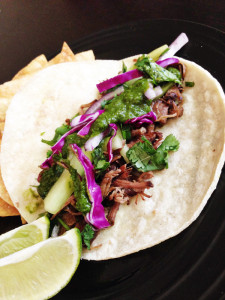 Slow Cooker Korean Short Rib Tacos #stayandhaveacookie #slowcooker