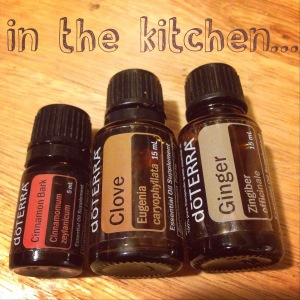 in the kitchen with doTERRA